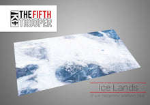 Load image into Gallery viewer, Fifth Trooper Ice Lands 6'x4' Gaming Mat With Carrying Bag