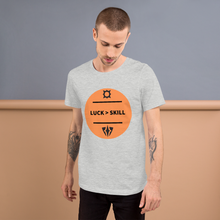 Load image into Gallery viewer, MOTF 'Luck > Skill' Unisex T-Shirt