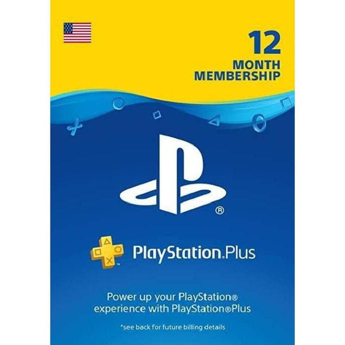 PlayStation PS Plus (12 Months - Digital Download).