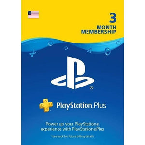 PlayStation PS Plus (3 Months - Digital Download).