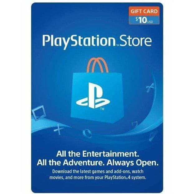 PlayStation Network (PSN) Gift Card $10 (US)