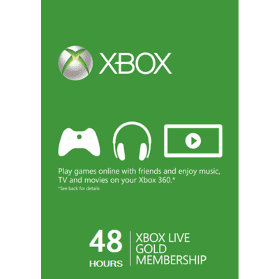 Xbox Live Gold Trial 48 hours 2 Days - Xbox One, 360 Digital code