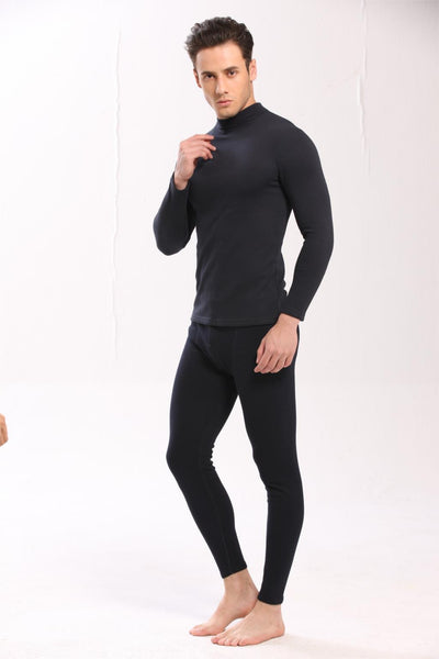 HOT SALE 2018 new thermal underwear mens long johns men Autumn winter shirt+pants sets warm thick plus velvet size M-XXXL