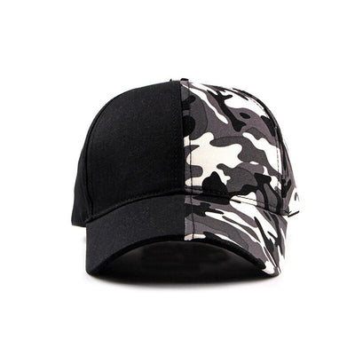 [AETRENDS] Patchwork camouflage baseball cap snapback men sports woman cap outdoor hat Z-6532