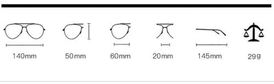 45376 Women Cat Eye Glasses Frames Optical EyeGlasses Fashion Metal Frame Prescription Eyewear Computer Glasses