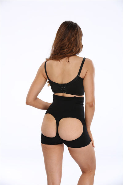 NINGMI Sexy Butt Lifter Control Pants Waist Trainer Cincher Women Hip Bottom Enhance Bum Lift Panties Shorts Brieft Body Shaper