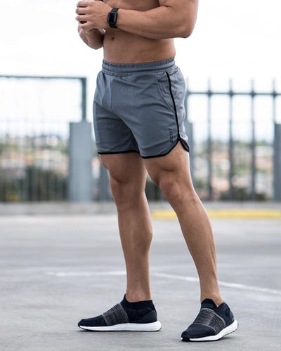 Men Breathable Mesh Cool Shorts Summer Beach Short Pants Male Gyms Fitness Workout Bodybuilding Jogger Crossfit Brand Sportswear