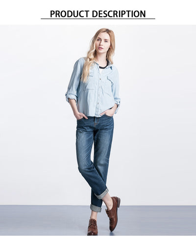 LEIJIJEANS Spring Plus Size Fashion Bleached Vintage Mid Waist Full Length Loose Boyfriend Jeans Stretch Jeans For Women