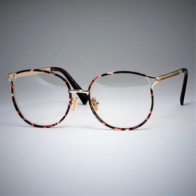 Ladies Cat Eye Glasses Frames For Women Metal frame Optical Fashion Eyewear Computer Glasses 45257