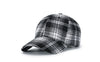 [AETRENDS] Baseball Cap Men Women Plaid Cotton Cap 6 Panel Hat Fashion Sport Baseball Hats and Caps Z-6574