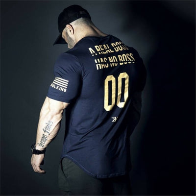 2019 New Plain Clothing fitness t shirt men O-neck t-shirt cotton bodybuilding tee shirts tops gyms tshirt Homme