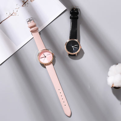 Fashion Sweet Cake Women's Watch Ladies Simple Watches TOP Brand Luxury Leather Wrist Watch Relogio Feminino reloj mujer Female
