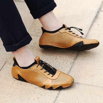 Classic Comfortable Men Casual Shoes Loafers Men Shoes Genuine Leather Shoes Men Flats Hot Sale Soft Leather Moccasins Shoes