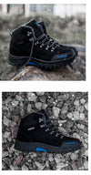 2019 Super Warm Men Winter Boots Suede Leather Men Boots Fur Plush Snow Boots Winter Shoes For Men Outdoor Boots Shoes Plus Size