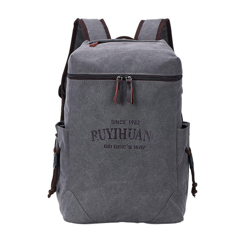 DIDABEAR Canvas Men Backpacks School Fashion Large Travel Bag Male Mochilas Feminina Casual Women Schoolbag For Girls