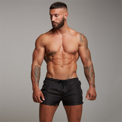 Bodybuilding Shorts Men Gym Fitness Short Pants Summer Casual Thin Cool Bermuda Male Quick dry Beach Shorts Breechcloth Bottoms