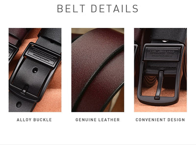 [LFMB]leahther belt men male genuine leather strap belt for men cow genuine leather luxury strap belt male men belt