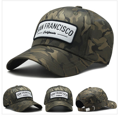 [AETRENDS] New Camouflage Baseball Cap with Neck Warmers HipHop Snapback Hats for Men Baseball Caps Men Camo Hat Tactical Z-6604