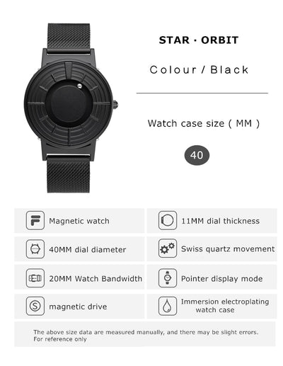 EUTOUR Rome digital dial watches Luxury Brand Mens fashion Casual Quartz Watch Simple Men Round canvas  leather strap Wristwatch