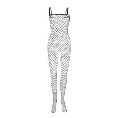 Open Crotch Bodystockings Erotic Transparent Sexy Lingerie With Lace Tights Nylon Plus Size Print Fishnet Stockings