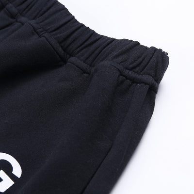 Sweat Pant Letter Print Pantalon Mujer Cotton Joggers Women High Waist Black Casual Trouser Hip Hop Funny Sweatpants Loose Femme