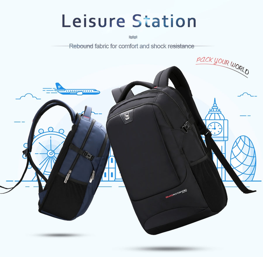 Oiwas Business Bag Laptop Backpack Multifunction Spine Care Waterproof Large Capacity Portable Bag For Traveling Bagpack