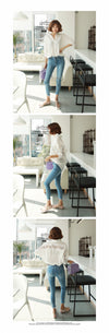 fashion women tops Summer 2018 backless sexy Hollow Out Lace Blouse Shirt Ladies casual Loose White office blouse women 1310 40