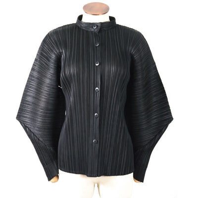 LANMREM 2020 New Spring Stand Collar Single Breasted Solid Color Pleated Jacket Women Vintage Loose Slim Was Thin Cardigan PD097