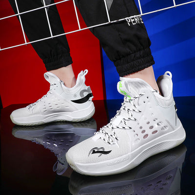 New men's sneakers breathable sneakers winter men's shoes knife high-top sneakers running shoes Korean trend men's five-color