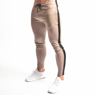 Joggers Sweatpants Men Casual fashion Pants Gym Fitness Workout Trousers Male Spring Autumn Cotton Skinny Track Pants Sportswear