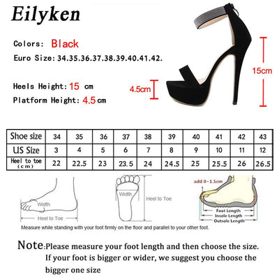 Eilyken 2020 Summer Fashion Crystal Diamond Women Sandals Thin High Heel Zipper Cover Heel Open Toe Gladiator Sexy Party Shoes