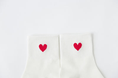 Girls Fashion Socks Women Heart Sports Cotton Long Socks Japanese Novelty Pattern Socks Hiphop Solid Cotton Cool Socks Girls Hot