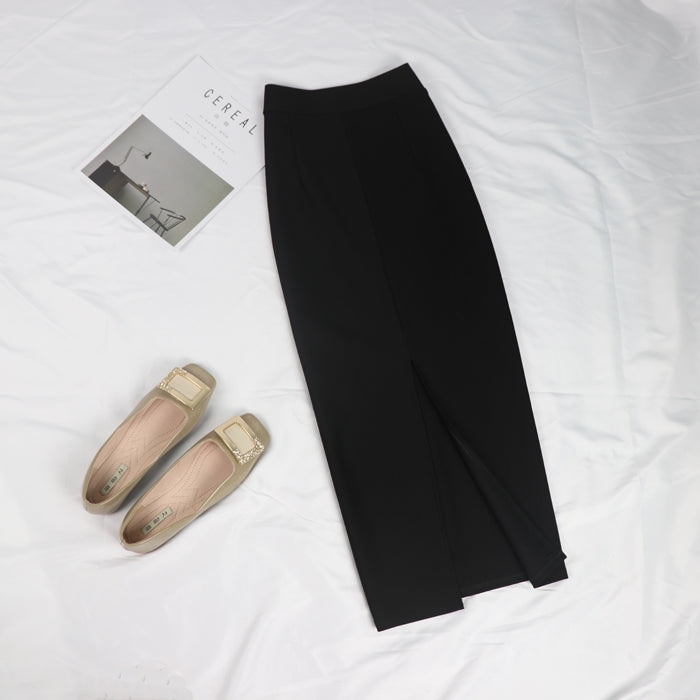 Women Bodycon Long Skirt Black High Waist Tight Maxi Skirts Club Party Wear Elegant Pencil Skirt Casual Skirts Saia faldas