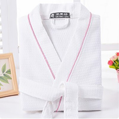 Special Offer Men Solid Color Full Sleeve 100% Cotton Sleep Lounge Robes Mens Long Dressing Gown Kimono Robes Male Bathrobes Man