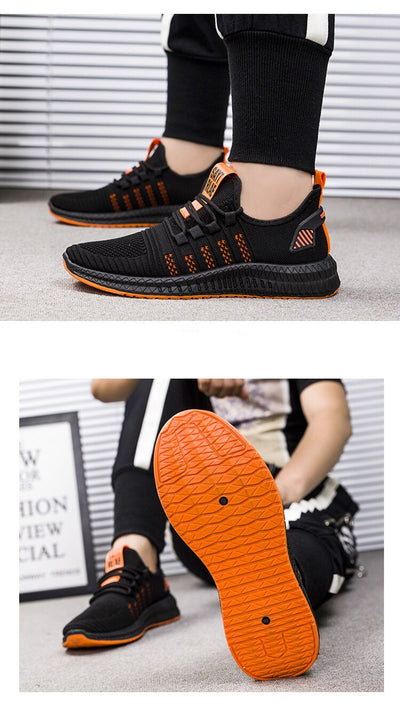 Shoes Men Fashion Sneakers 2020 Spring Autumn New Lace-UP Style Breathable Light Men Casual Shoes Footwear Zapatos De Hombre