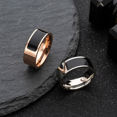 5 Color Multifunctional NFC Smart Ring Waterproof Smart Digital Technology Ring High-end Gift Fashion Jewelry