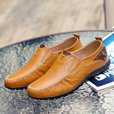 Big Size 38-47 New Arrival Split Leather Men Casual Shoes Fashion Top Quality Driving Moccasins Slip On Loafers Men Flat Shoes