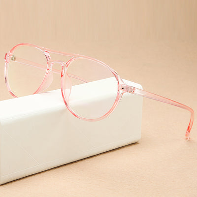 KOTTDO Round Reading Glasses Frame Men Plastic Computer Transparent Retro Eye Glasses Frames for Woman Glasses Optical Frames