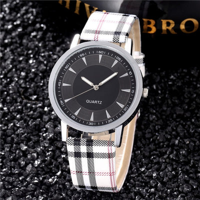 Women Watches 2019 Brand Luxury Fashion Quartz Ladies Watch Plaid Clock Rose Gold Dial Dress Casual Wristwatch relogio feminino