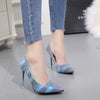 Women Pump  High Heels Single Shoes  Summer Patent Leather Wedding Party Gladiator