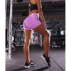 Hot Women Casual Solid Elastic High Waist Push Up Fitness Yoga Shorts Running Gym Stretch Sports Short Pants