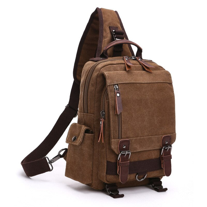 Scione High Quality Men Chest Bag Casual Travel Handbag Messenger Bags Women Female Crossbody Shoulder Bag Small bolsas mujer