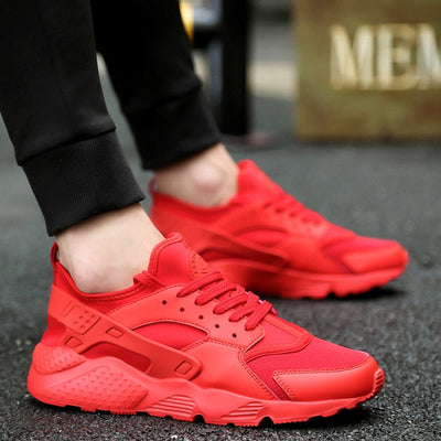 Running Shoes for Man 2019 Braned Black White Sports Shoes Men Sneakers Zapatos Corrientes Verano Red Chaussure Homme De Marque