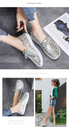 STQ Spring Women Flats Loafers Shoes Genuine Leather Flats Female Shoes Lace Up Loafers Casual Slip-on Walking Shoes Woman 7760