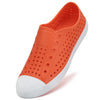 New Summer Flat Shoes Woman Beach Sandals Breathable Hollow Loafers Couple Shoes Outdoor Slip-on Platform Lazy Shoes Mujer
