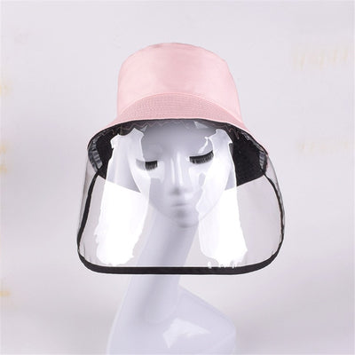 New Anti-spitting Bucket Hats Uniesx Protective Cover Face Panama Men Women Outdoor Isolation Anti-dropping Sunscreen Sun Caps