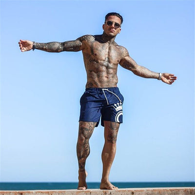 Mens Board Shorts Swimwear Swim Shorts Beach streetwear Swimming Short Pants Swimsuits Mens Running Sports Surffing Shorts Male