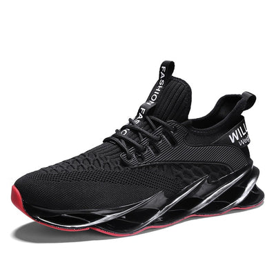 New Breathable Running Shoes for Men Blade Cushioning Sneakers Outdoor Athletic Shoes Professional Training Shoes Zapatills