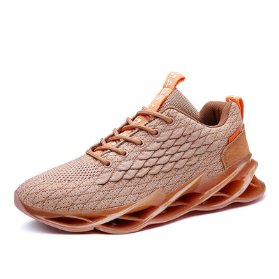 SENTA New Cushioning Men Sneakers Hollow Soles Running Shoes for Men Adult Sports Shoes Outdoor Athletic Training Jogging Shoes