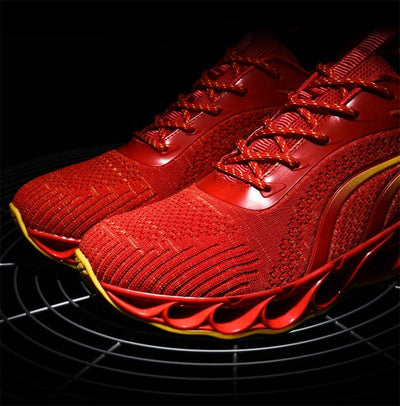 Air Cushion Men's Sport Shoes Men Shoes Sneakers for Sports Running Shoes Men Tennis Male Outdoor Footwear Black Basket A-349